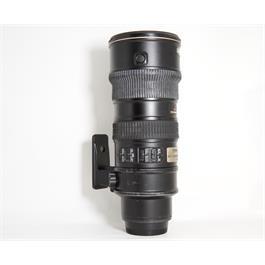 Used Nikon 70-200mm f2.8G VR thumbnail