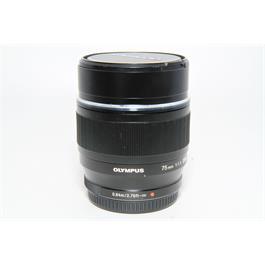 Used Olympus 75mm f1.8 Lens thumbnail