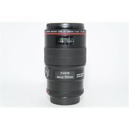 Used Canon 100mm f2.8L IS USM Macro Lens thumbnail