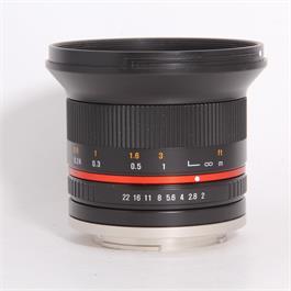 Used Samyang 12mm f/2 NCS - Sony E Thumbnail Image 0