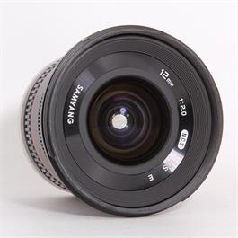Used Samyang 12mm f/2 NCS - Sony E Thumbnail Image 1