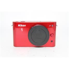 Used Nikon J1 Body Red thumbnail