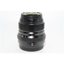 Fujifilm Used Fuji XF 23mm f2 Lens Black thumbnail