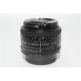 Used Nikon AF-s 50mm f1.8D Lens thumbnail