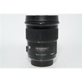 Used Sigma 50mm f1.4 Art Lens Nikon Fit thumbnail