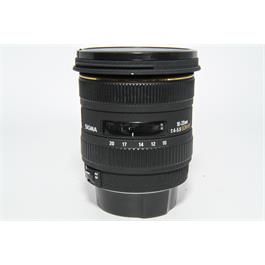 Used Sigma EX 10-20mm f4-5.6 Canon Fit thumbnail