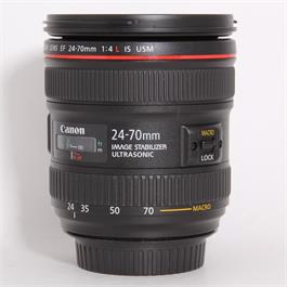 Used Canon 24-70mm f/4L IS USM Thumbnail Image 0