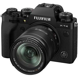 Fujifilm X-T4 Mirrorless Camera With XF 18-55mm f/2.8-4 Lens Kit Black Thumbnail Image 3