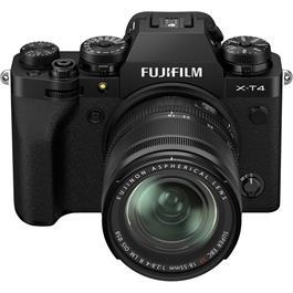 Fujifilm X-T4 Mirrorless Camera With XF 18-55mm f/2.8-4 Lens Kit Black Thumbnail Image 8