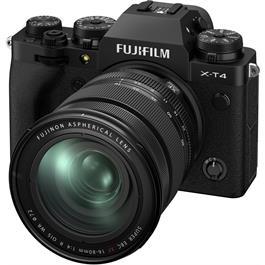 Fujifilm X-T4 Mirrorless Camera With XF 16-80mm f/4 Lens Kit Black Thumbnail Image 2