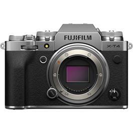 Fujifilm X-T4 Mirrorless Camera Body Silver Thumbnail Image 0