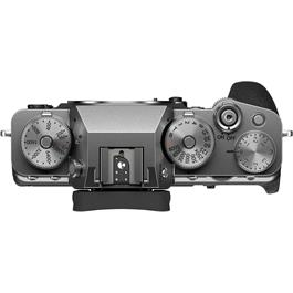 Fujifilm X-T4 Mirrorless Camera Body Silver Thumbnail Image 3