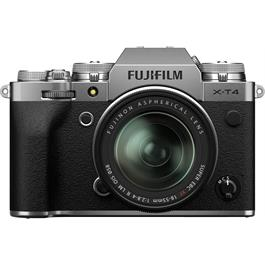 Fujifilm X-T4 Mirrorless Camera With XF 18-55mm f/2.8-4 Lens Kit Silver thumbnail