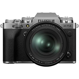 Fujifilm X-T4 Mirrorless Camera With XF 16-80mm f/4 Lens Kit Silver thumbnail
