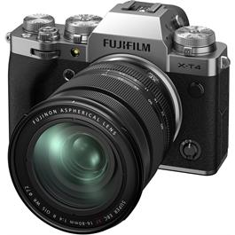 Fujifilm X-T4 Mirrorless Camera With XF 16-80mm f/4 Lens Kit Silver Thumbnail Image 2