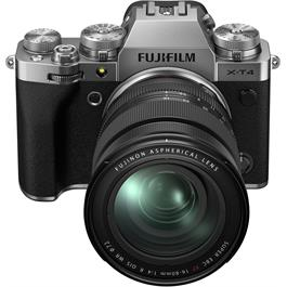 Fujifilm X-T4 Mirrorless Camera With XF 16-80mm f/4 Lens Kit Silver Thumbnail Image 5