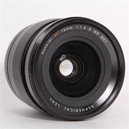 Used Fujifilm 16mm f/1.4 R WR Thumbnail Image 1