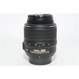 Used Nikon 18-55mm f3.5-5.6G VR Lens thumbnail