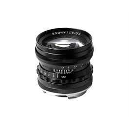 Voigtlander 50mm f/1.5 Nokton Vintage Line Black Lens - VM Mount thumbnail