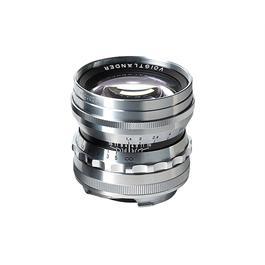 Voigtlander 50mm f/1.5 Nokton Vintage Line Silver Lens - VM Mount thumbnail