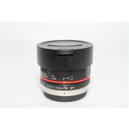 Used Samyang 7.5mm f3.5 Fisheye Lens thumbnail