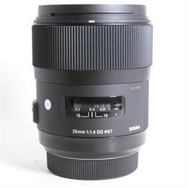 Used Sigma 35mm F/1.4 DG HSM Art Sony A thumbnail