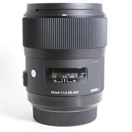Used Sigma 35mm F/1.4 DG HSM Art Sony A thumbnail