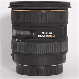 Used Sigma 10-20mm f/4-5.6 EX DC HSM - Canon Thumbnail Image 0