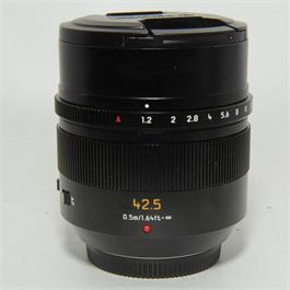 Used Panasonic 42.5mm f1.2 Nocticron thumbnail