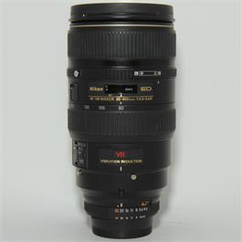 Used Nikon 80-400mm f4.5-5.6D VR lens thumbnail