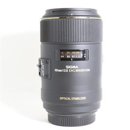 Used Sigma 105mm F2.8 OS HSM Macro Sony A thumbnail