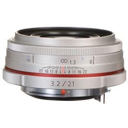 Pentax 21mm f/3.2 HD DA AL Limited Lens Silver thumbnail