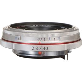 Pentax 40mm f/2.8 HD DA Limited Lens Silver thumbnail