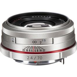 Pentax 70mm f/2.4 HD DA Limited Lens Silver thumbnail