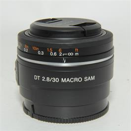 Used DT Sony 30mm F2.8 Macro (Sony A Mount) thumbnail