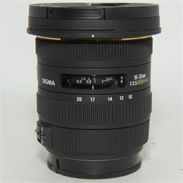 Used Sigma 10-20m f3.5 EX DC lens Sony A thumbnail