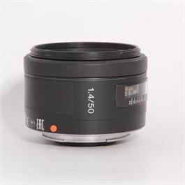 Used Sony 50mm f/1.4 - A Mount thumbnail