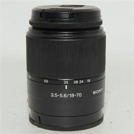 Used Sony DT 18-70mm f3.5-5.6 Lens thumbnail
