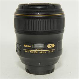 Used Nikon 35MM 1.4G Lens thumbnail