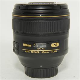 Used Nikon 85MM f1.4G Lens thumbnail