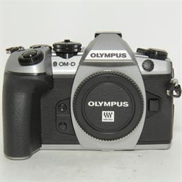 Used Olympus E-M1 Mark II Body Silver thumbnail