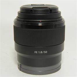 Used Sony FE 50mm f1.8 thumbnail