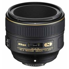 Nikon AF-S 58mm lens f1.4G Ex Demo thumbnail