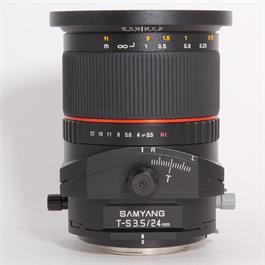 Used Samyang 24mm f/3.5 T-S ED AS UMC - Nikon thumbnail