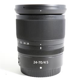 Used Nikon 24-70mm F/4 S Z Mount thumbnail