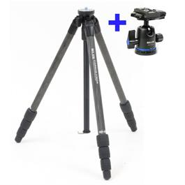 Slik Pro CF-634 Carbon Fibre Tripod With PBH-535AS Ball Head Kit thumbnail