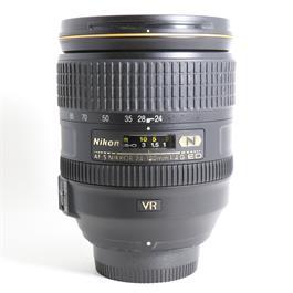 Used Nikon 24-120mm F/4G VR thumbnail