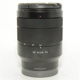 Used Sony FE 24-70mm f4 ZA Lens thumbnail