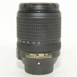 Used Nikon 18-140mm f3.5-5.6G VR Lens thumbnail