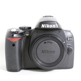 Used Nikon D40 Body thumbnail